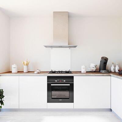 Glasplaat keuken Satijnglas 600x700