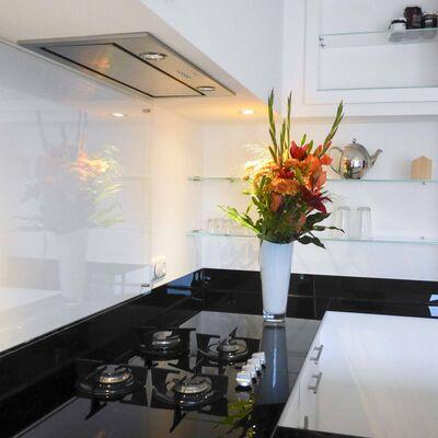 Glazen achterwand keuken