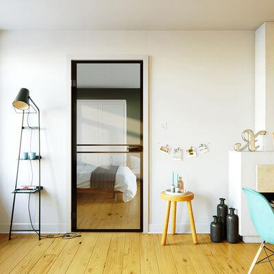 Glazen deur design 1