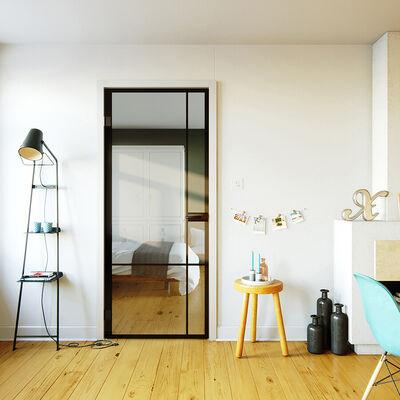 Glazen deur design 4