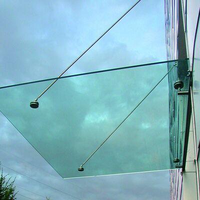 Glazen luifel Niels Maatwerk tot 2.000x2.000mm