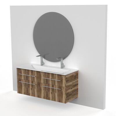 Spiegel rond grijs.1100
