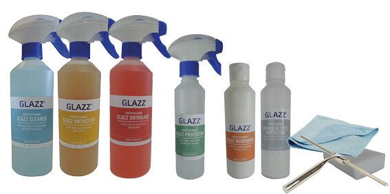 Schoonmaakproducten Glazz glas