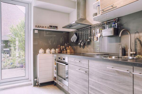 Glad Keuken Achterwand : Glazen keukenachterwand op maat inmeten met pasgarantie