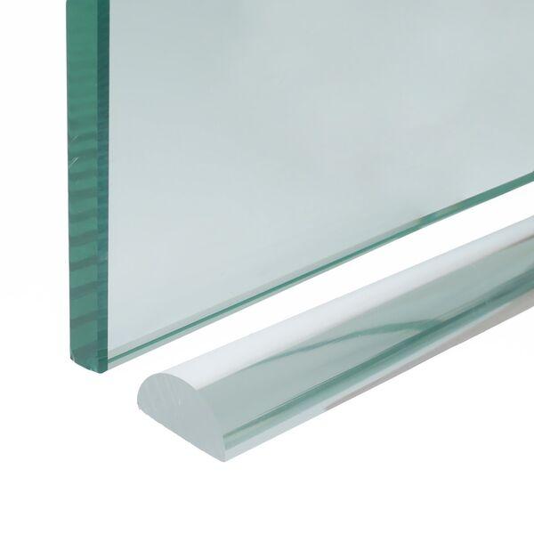 Rubber Glazen Douchedeur.Transparante Lekdorpel Voor Douchedeur Glazz