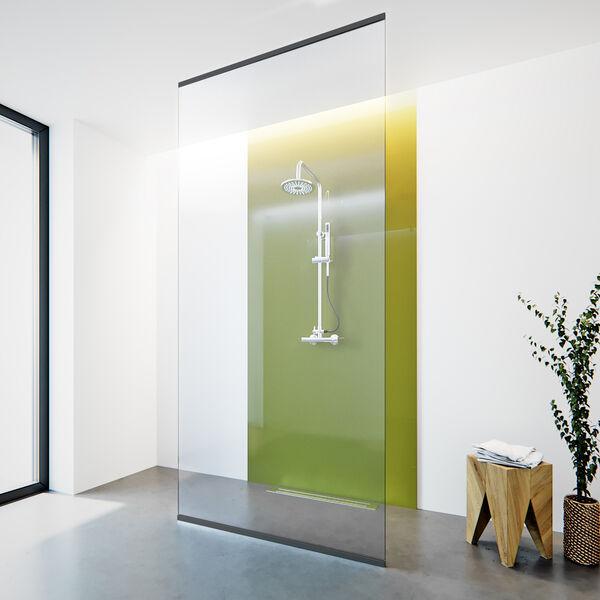 Glazen Douchewand Tot Plafond.Glazen Douchewand Tot Plafond Inloopdouche Glazz