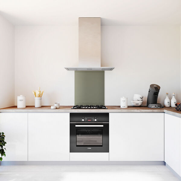 Glasplaat keuken kleur -muis-hoogglans