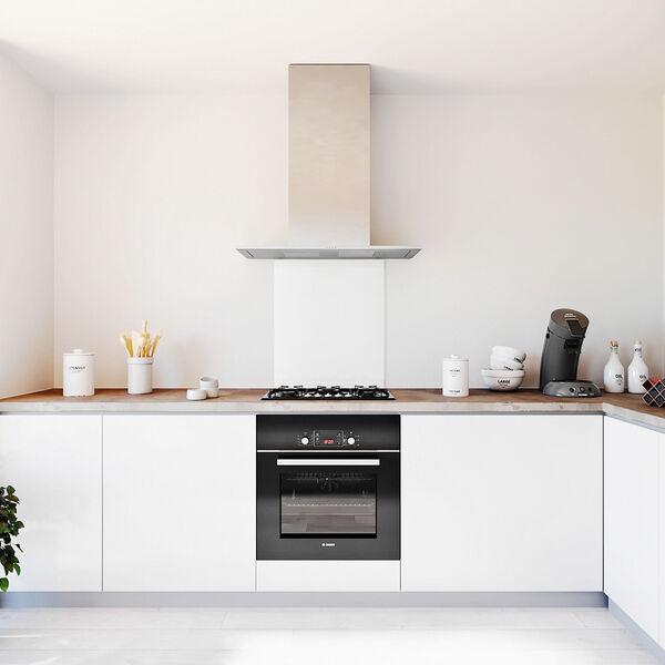 Glasplaat keuken kleur -wit-hoogglans