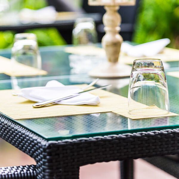 Glazen tafelblad