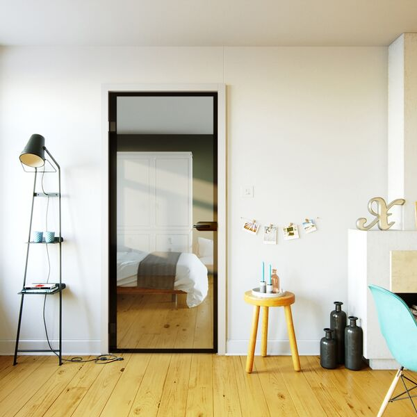 Top Industriële glazen binnendeur | GLAZZ® @QK52