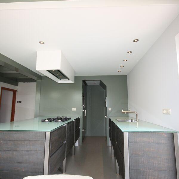 Keukenwerkblad basic wit hoogglans