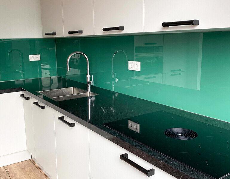 Glaswand keuken