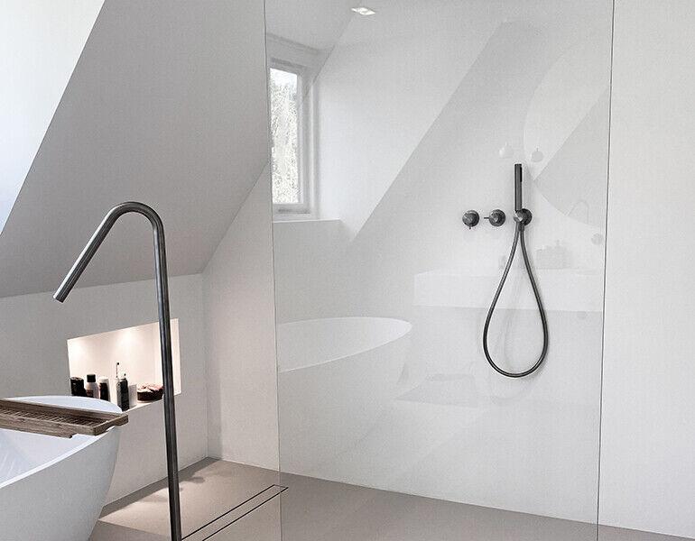Inloopdouche voor bestaande badkamer