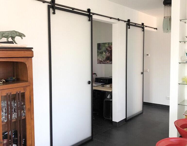 Loftdeur voor in huis