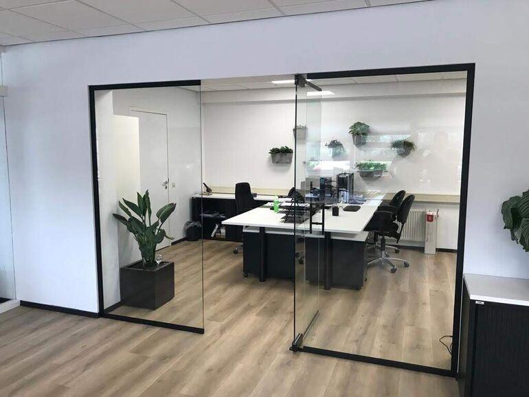 Scheidingswand kantoor