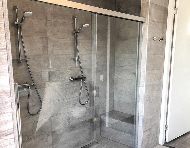 Schuifdeur voor de douche