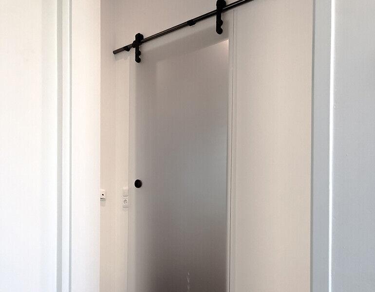 Schuifdeur voor de slaapkamer