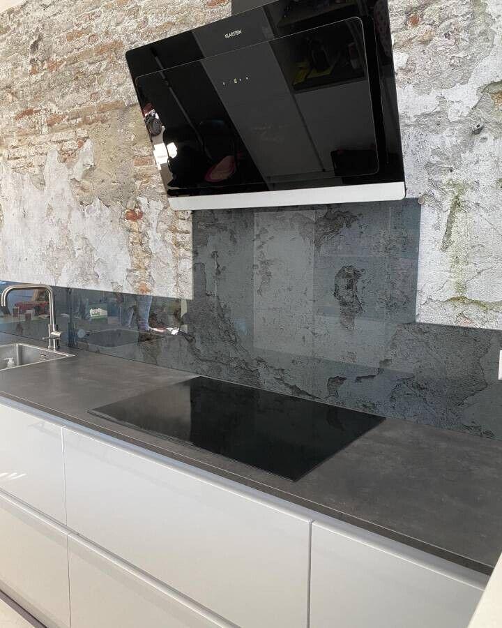 keukenwand glas